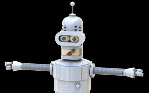 A render of Bender by bramant1