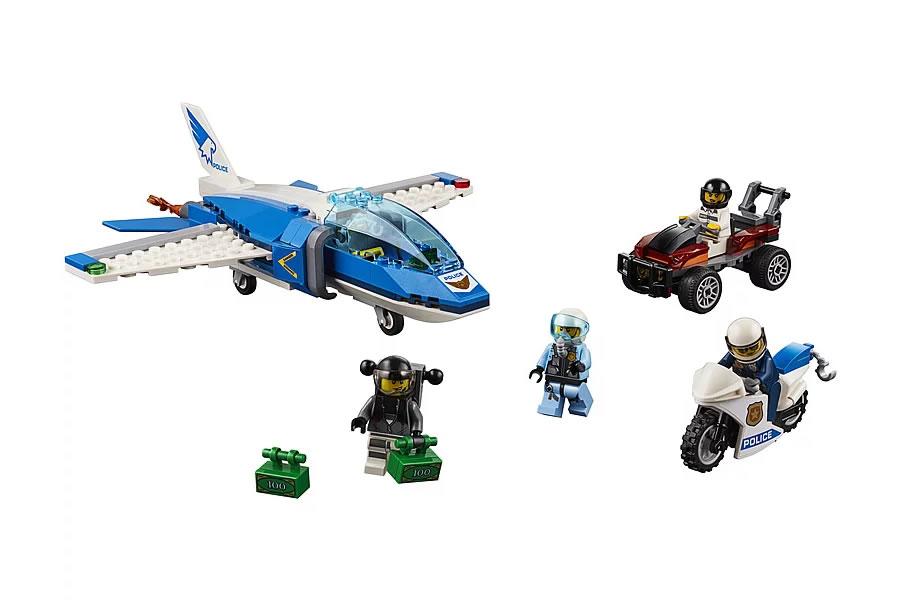 lego-city-sky-police-parachute-arrest-60208-2019-inhalt zusammengebaut.com