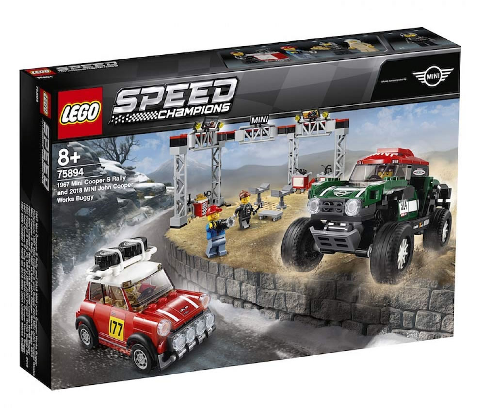 lego-speed-champions-1967-mini-cooper-s-rally-and-2018-mini-john-cooper-works-bugga-75894-2019-box zusammengebaut.com