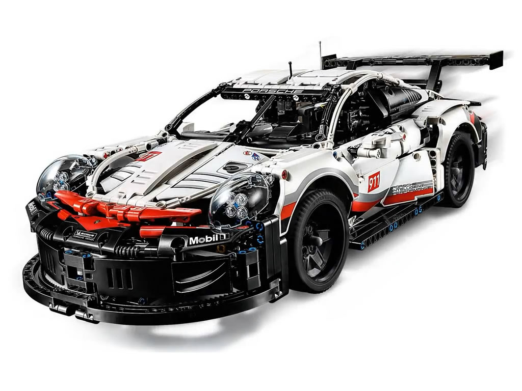 lego technic porsche 911 rsr 42096 offizielle bilder zusammengebaut. Black Bedroom Furniture Sets. Home Design Ideas