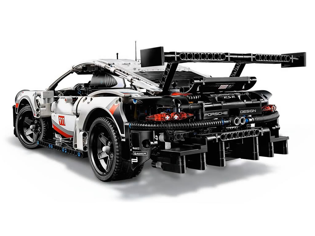 lego technic porsche 911 rsr 42096 offizielle bilder. Black Bedroom Furniture Sets. Home Design Ideas
