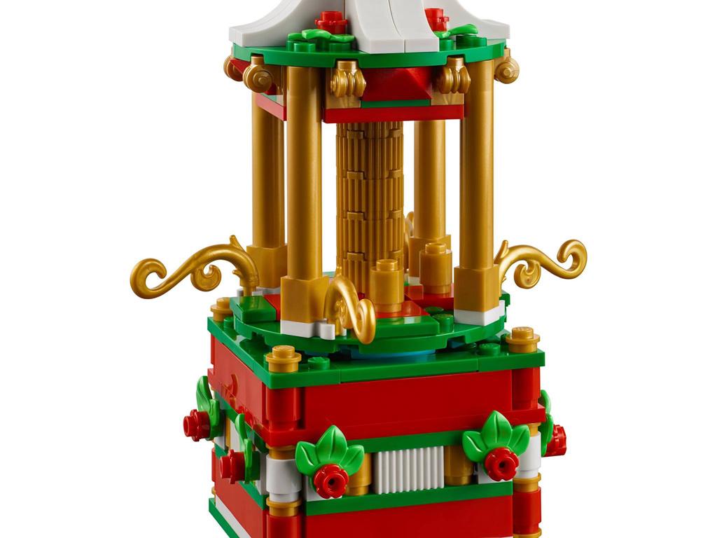 lego-weihnachts-karussell-40293-2018-detail zusammengebaut.com