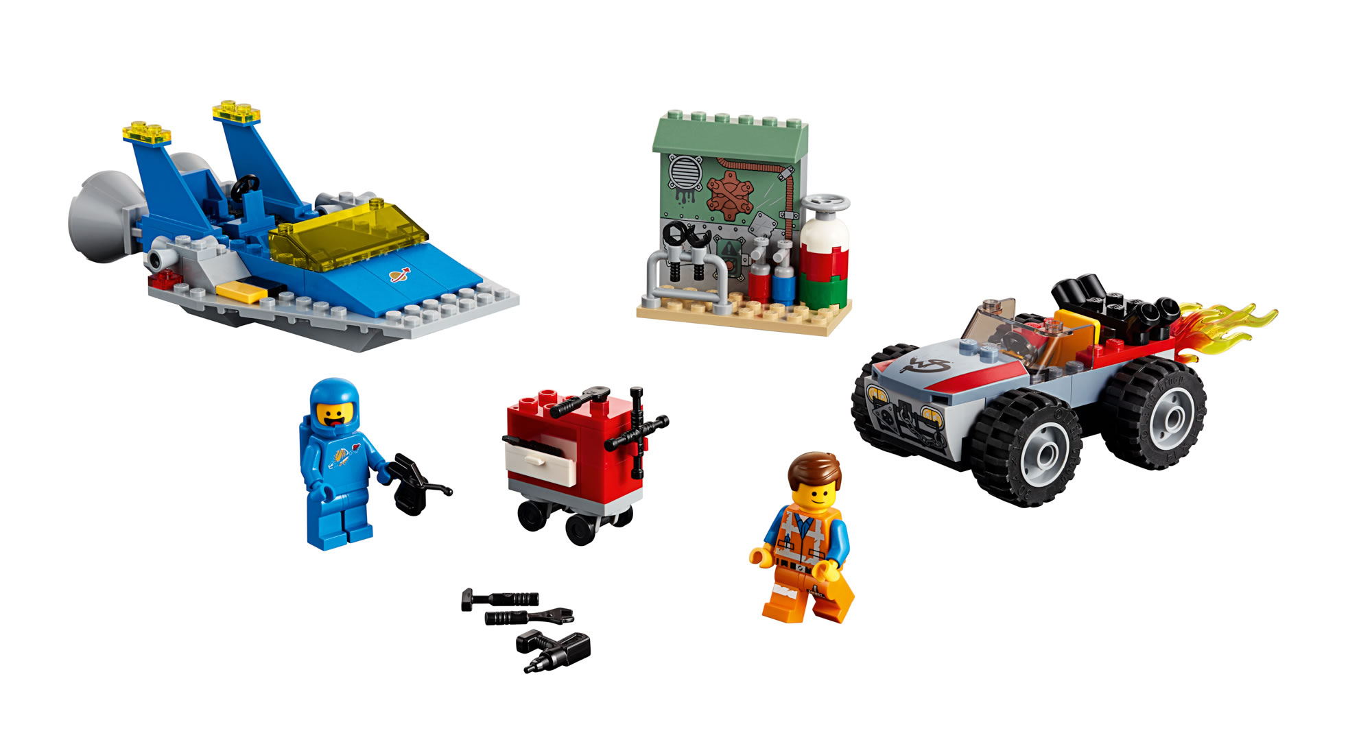 the-lego-movie-2-bennys-space-squad-70841-inhalt-2019 zusammengebaut.com