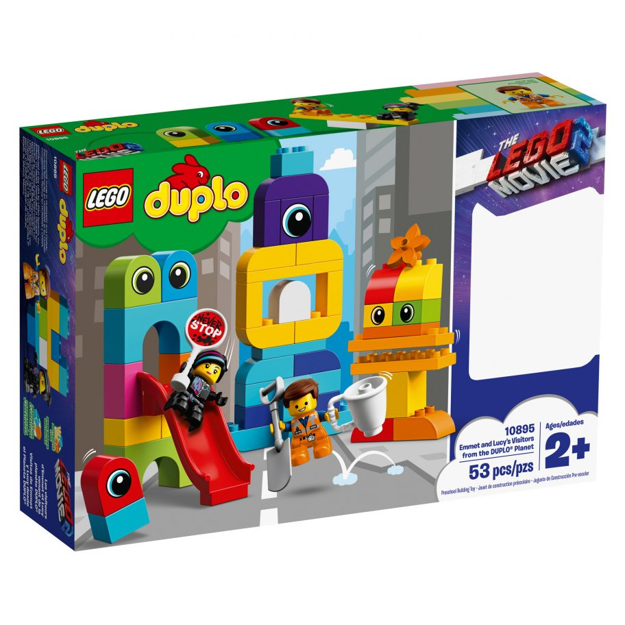 the-lego-movie-2-emmet-and-lucys-visitors-from-the-duplo-planet-10895-set-2019-box zusammengebaut.com