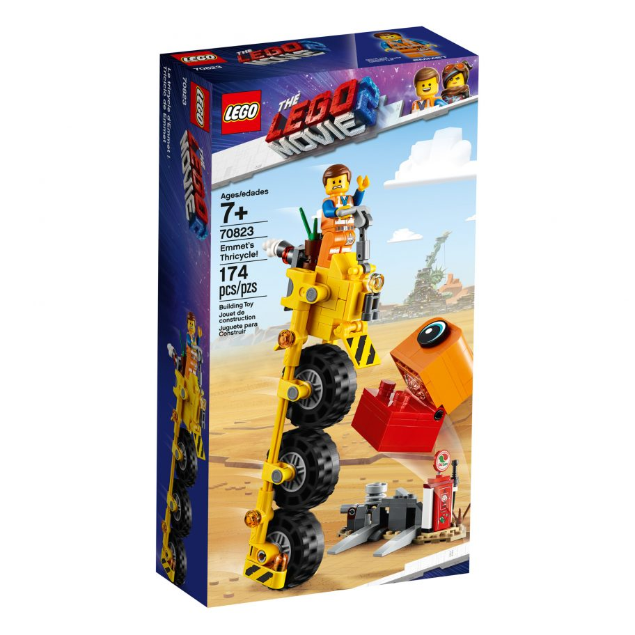 the-lego-movie-2-emmets-thricycle-70823-box-2019 zusammengebaut.com