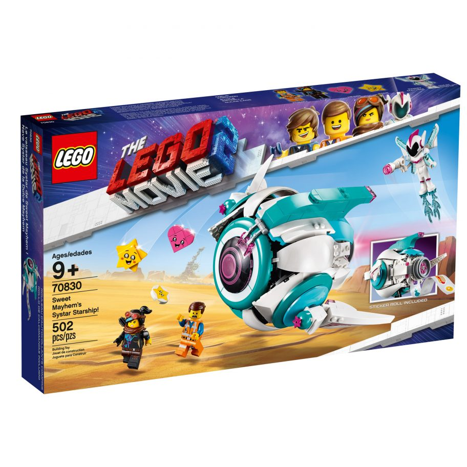 the-lego-movie-2-sweet-mayhems-systar-starship-70830-box-2019 zusammengebaut.com