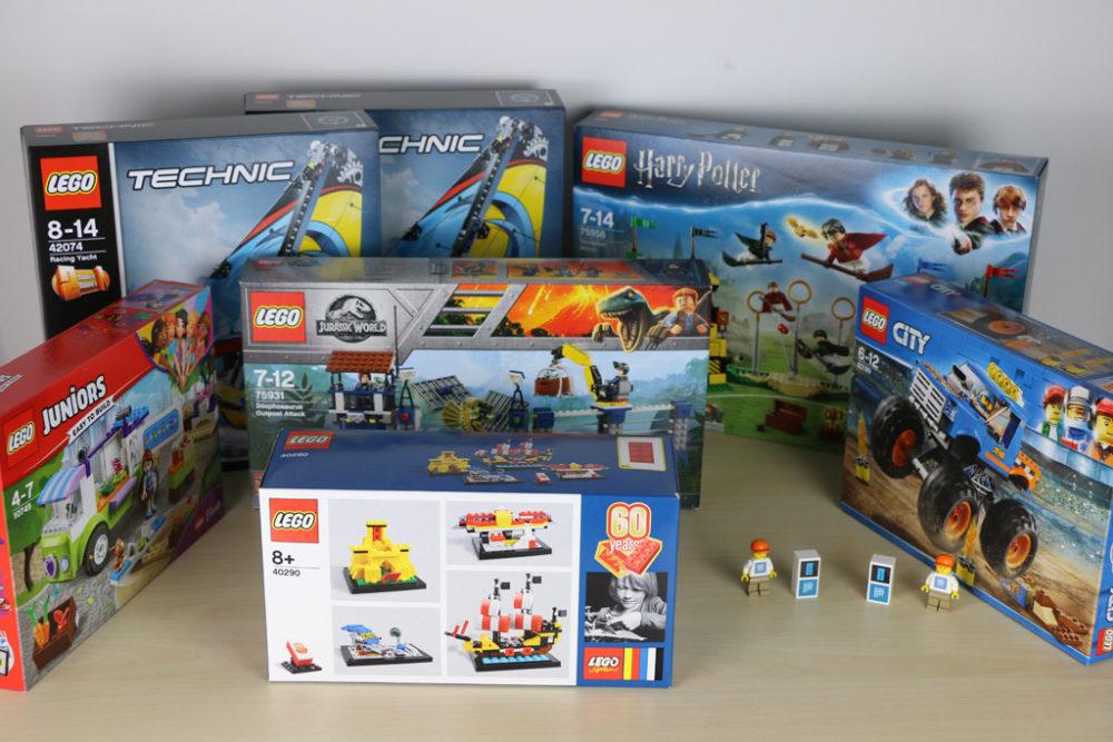 Zwei Zusammengebaut Lego Gewinnspiele Enden Um Mitternacht