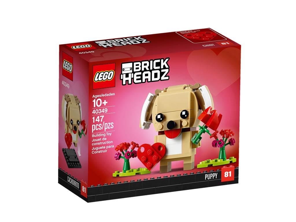 lego-brickheadz-puppy-40349-2019-box zusammengebaut.com