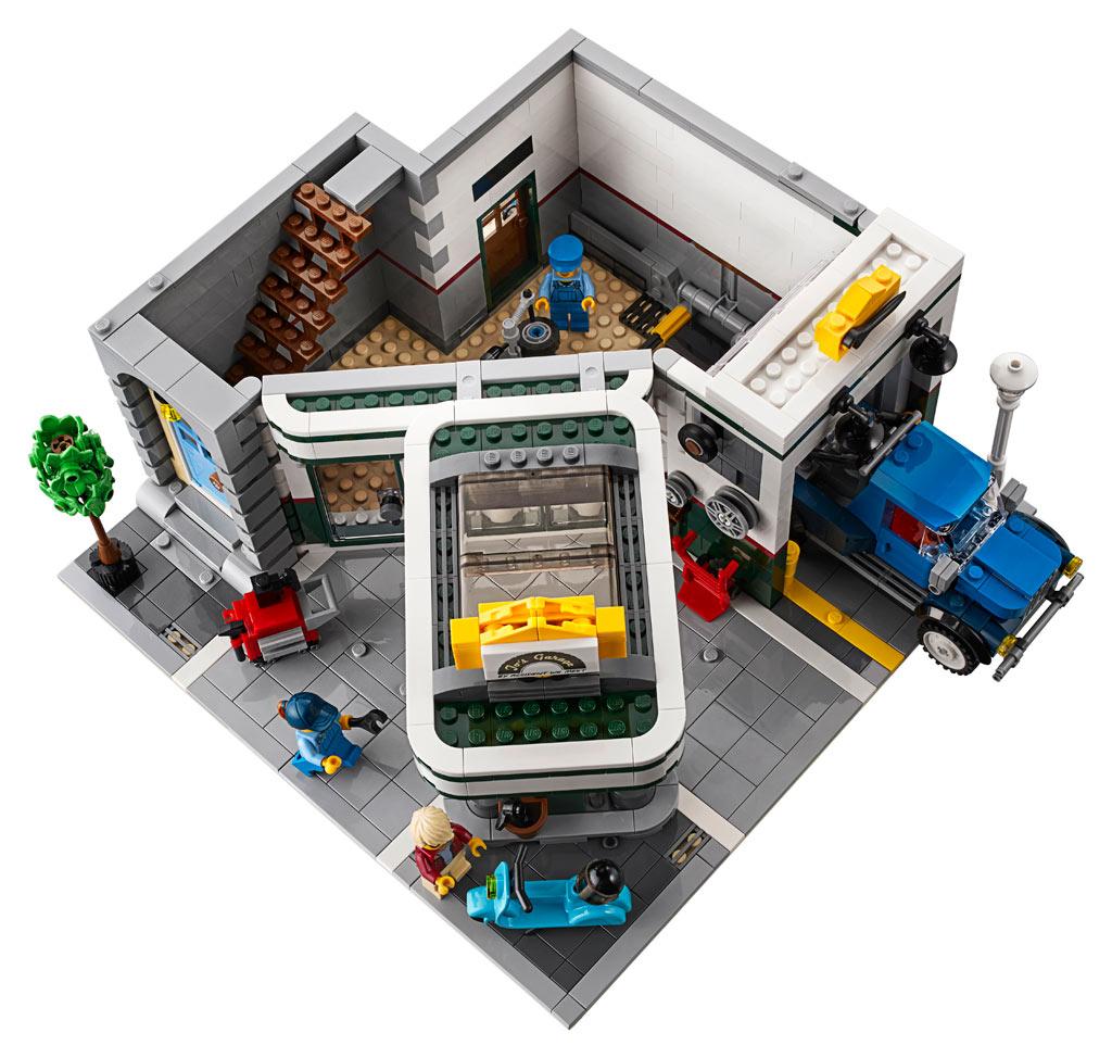 lego-creator-expert-corner-garage-10264-draufsicht zusammengebaut.com