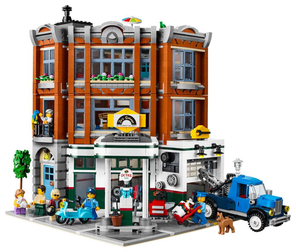 lego-creator-expert-corner-garage-10264-front zusammengebaut.com