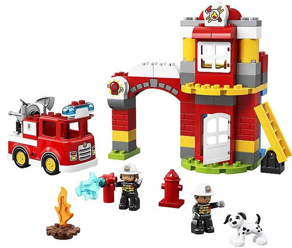 lego-duplo-fire-station-feuerwehr-10903-2019 zusammengebaut.com