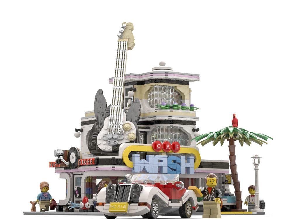 lego-ideas-the-car-wash-bricky-brick zusammengebaut.com
