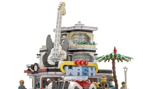 LEGO Ideas The Car Wash