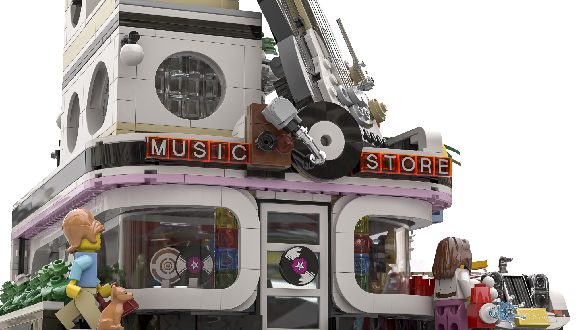 lego-ideas-the-car-wash-e-gitarre-music-store-logo-bricky-brick zusammengebaut.com