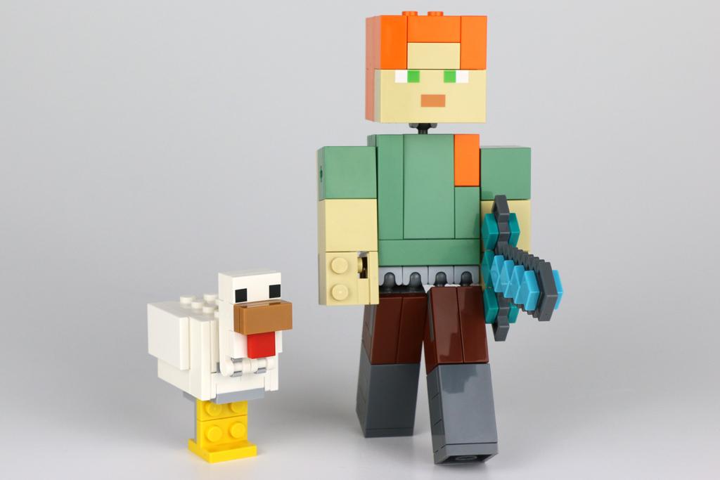 lego-minecraft-bigfig-alex-mit-huhn-21149-2018-zusammengebaut-andres-lehmann zusammengebaut.com