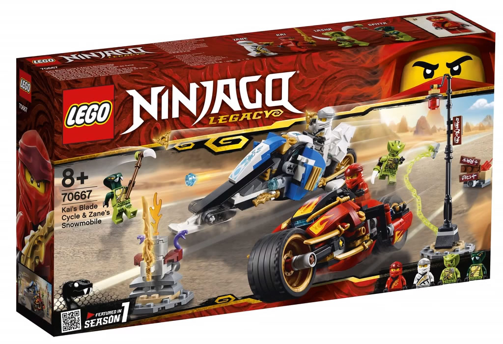 lego-ninjago-kai-blade-cycle-zane-snowmobile-70667-2019-box zusammengebaut.com