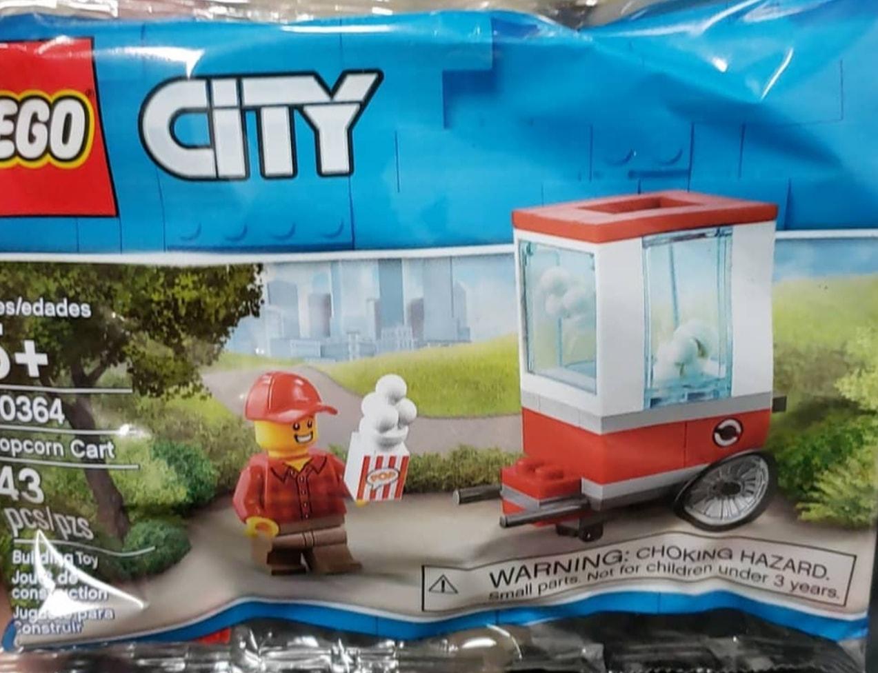lego-city-popcorn-cart-wagen-30364-polybag-2019 zusammengebaut.com