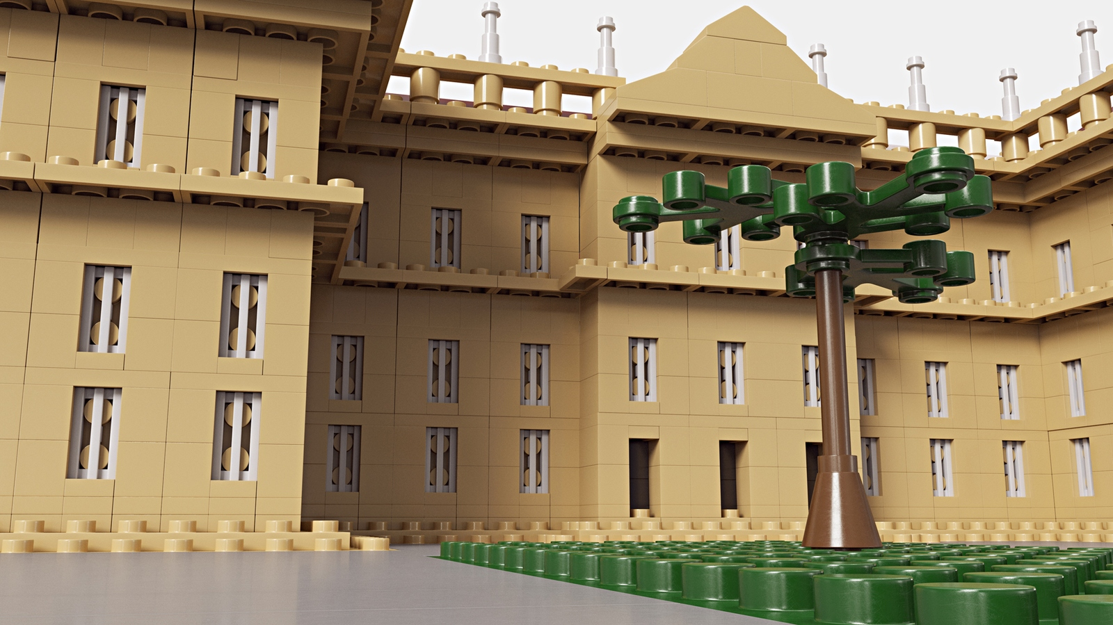 lego-ideas-nationalmuseum-rio-de-janeiro-front zusammengebaut.com