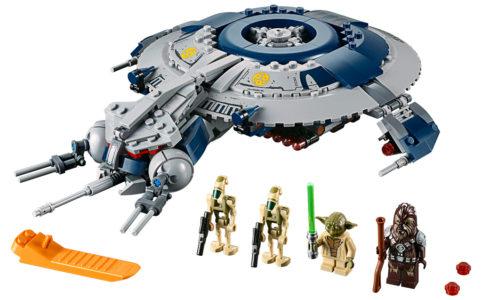 lego-star-wars-droid-gunship-75233-2019 zusammengebaut.com