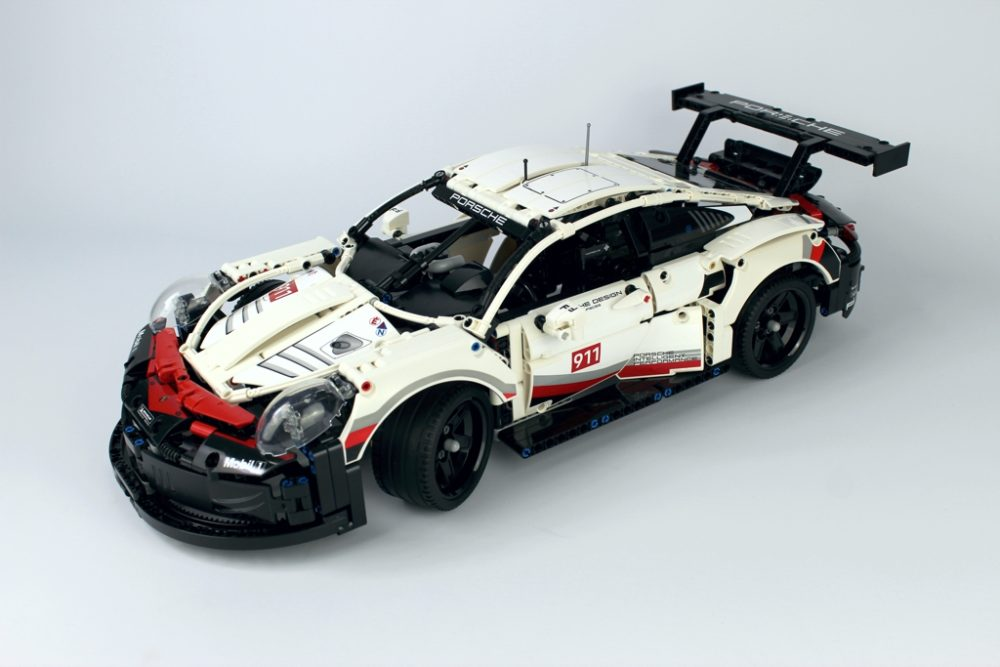 lego technic porsche 911 rsr 42096 im review zusammengebaut. Black Bedroom Furniture Sets. Home Design Ideas