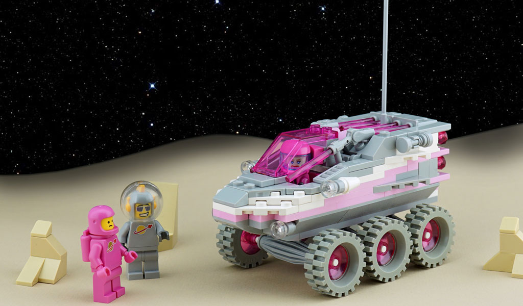 Pink Space-Rover by Frost