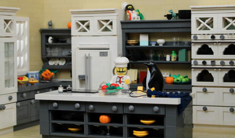 LEGO Kitchen by timofey_tkachev