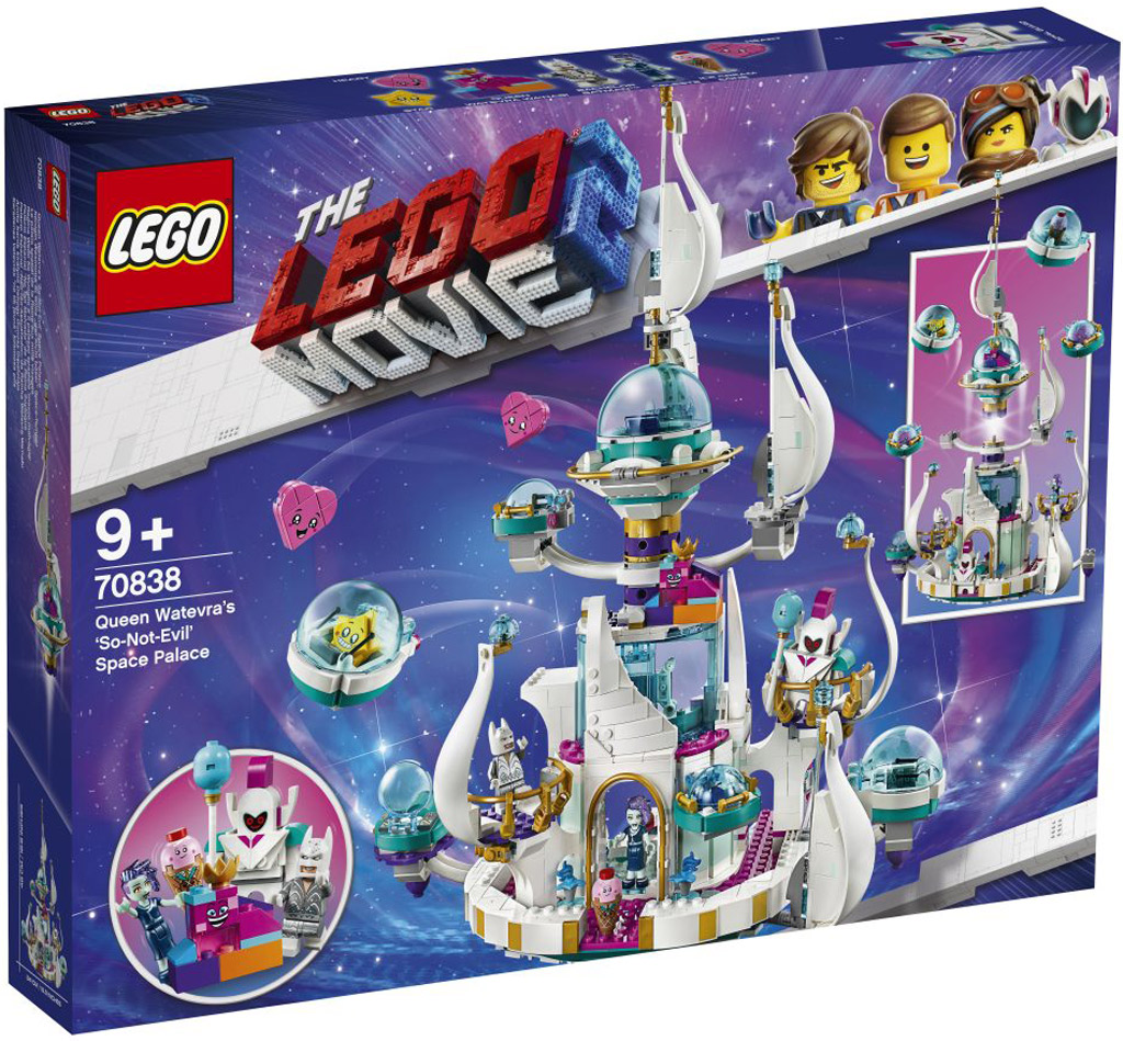 LEGO-MOVIE-2-Queen-Watevras-So-Not-Evil-Space-Palace-Box-70838 zusammengebaut.com