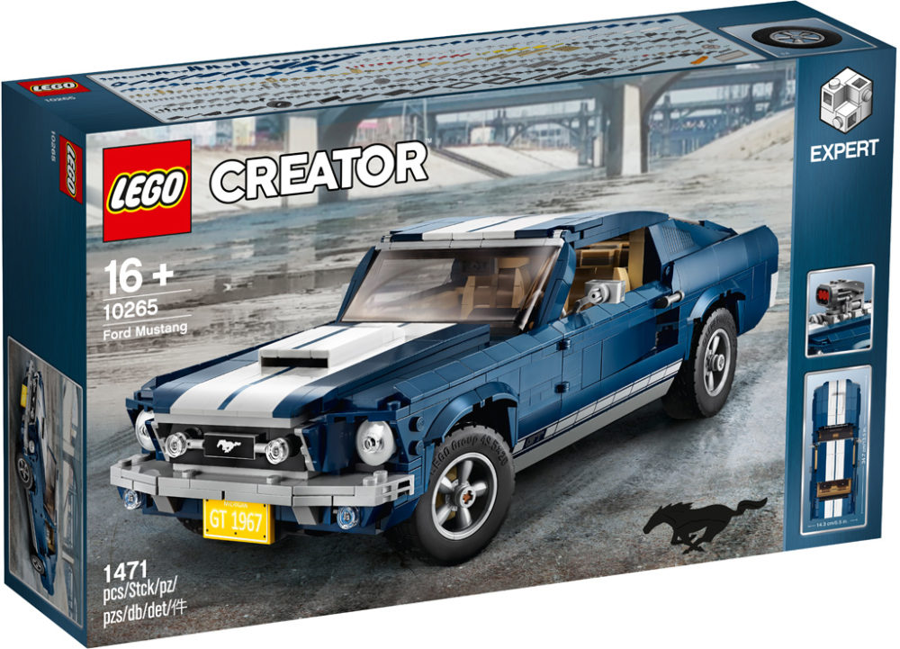 lego creator expert ford mustang 10265 offiziell. Black Bedroom Furniture Sets. Home Design Ideas