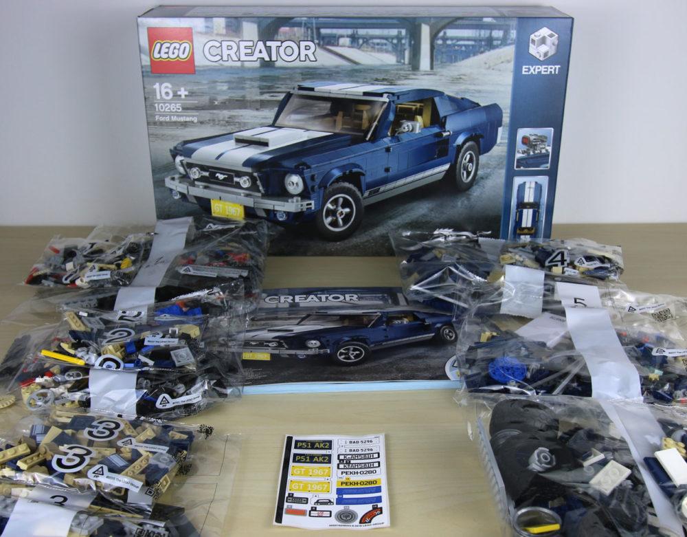 Lego Creator Expert Ford Mustang 10265 Ausgepackt Und Erste