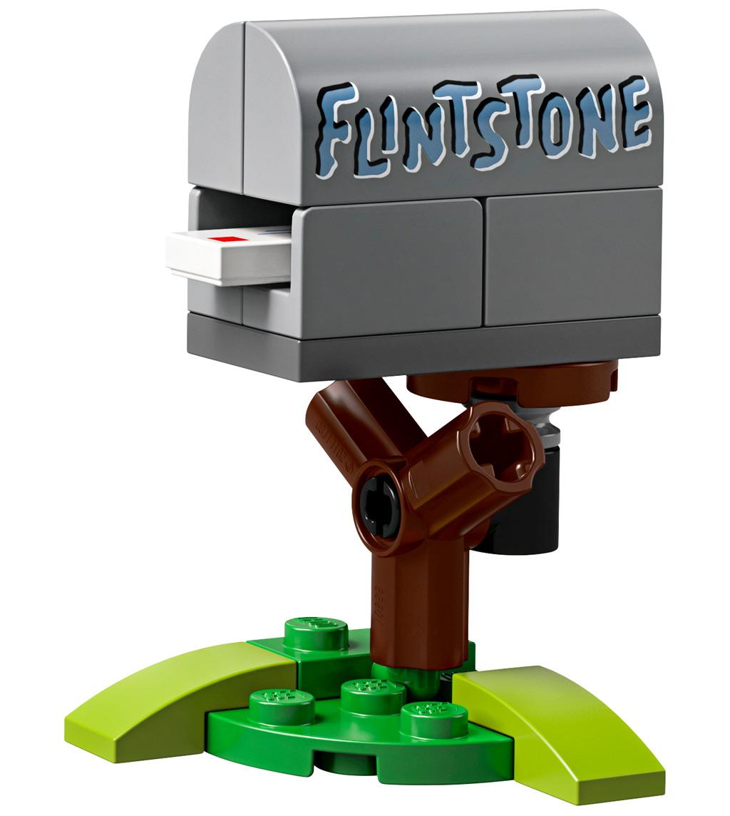 lego-ideas-the-flintstones-21316-familie-feuerstein-briefkasten-2019 zusammengebaut.com