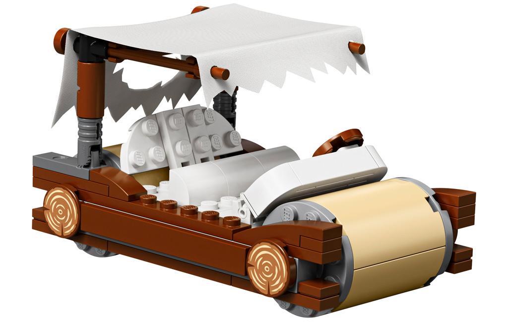 lego-ideas-the-flintstones-21316-familie-feuerstein-fahrzeug-2019 zusammengebaut.com