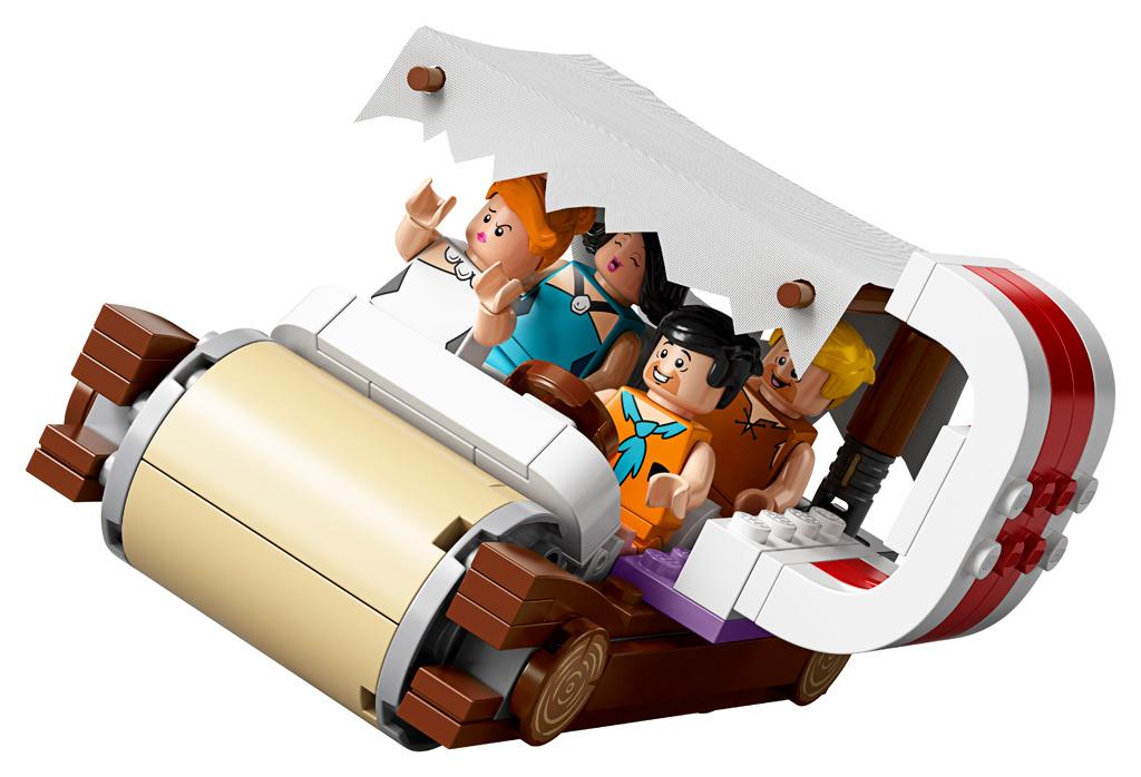 lego-ideas-the-flintstones-21316-familie-feuerstein-fahrzeug-schief-2019 zusammengebaut.com