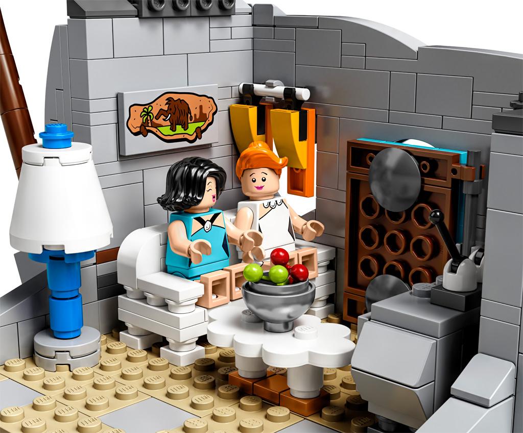 lego-ideas-the-flintstones-21316-familie-feuerstein-heutte-couch-2019 zusammengebaut.com