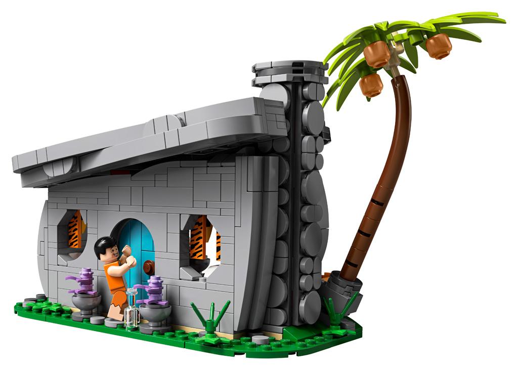 lego-ideas-the-flintstones-21316-familie-feuerstein-heutte-eingang-2019 zusammengebaut.com