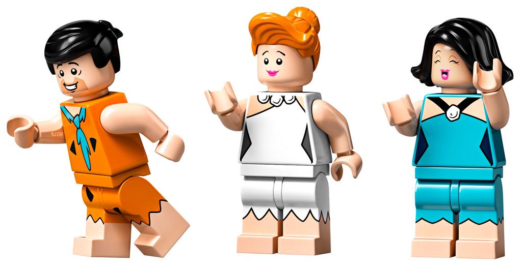 lego-ideas-the-flintstones-21316-familie-feuerstein-minifiguren-2019 zusammengebaut.com