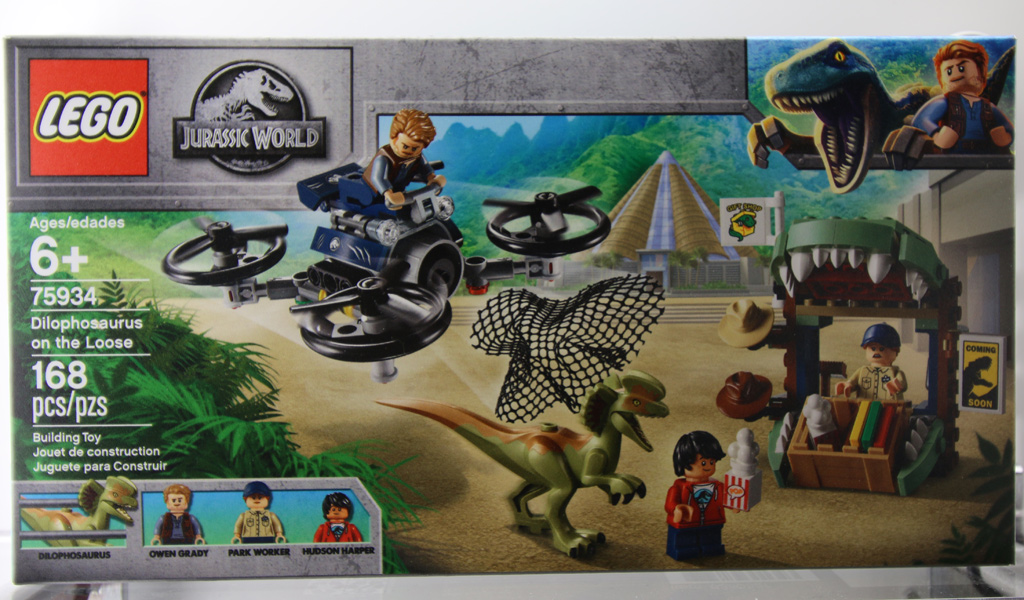 Lego Jurassic World 2019 Four New Sets Many Detailed Pictures