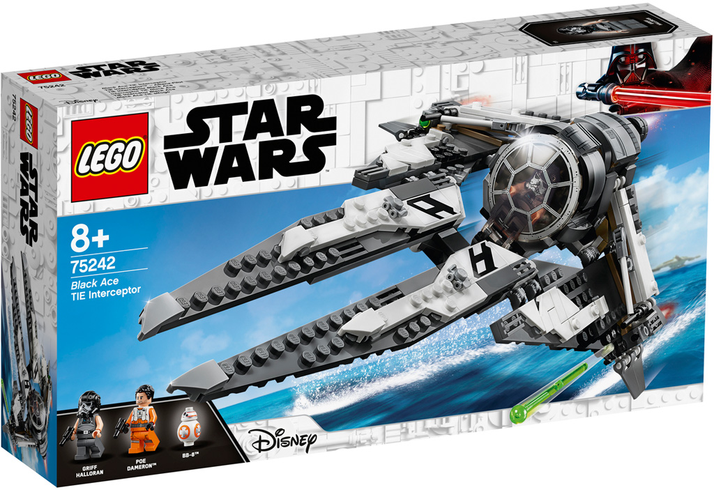 lego-star-wars-resistance-black-ace-tie-interceptor-box-75242-2019 zusammengebaut.com
