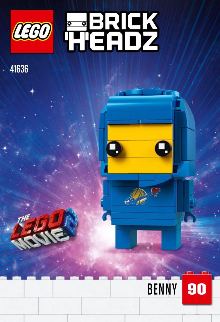 the lego movie 2 vier brickheadz angek252ndigt zusammengebaut