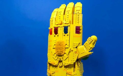 Infinity Gauntlet by Brickatecture moc industries