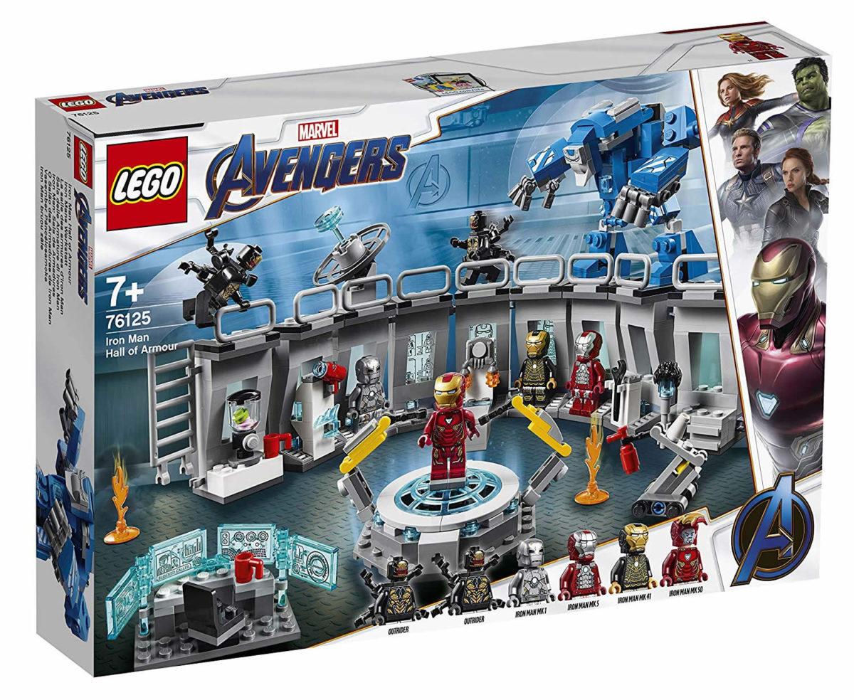 End Game Super Heroes Iron Man War Machine Buster Figure Lego Marvel Avengers 4
