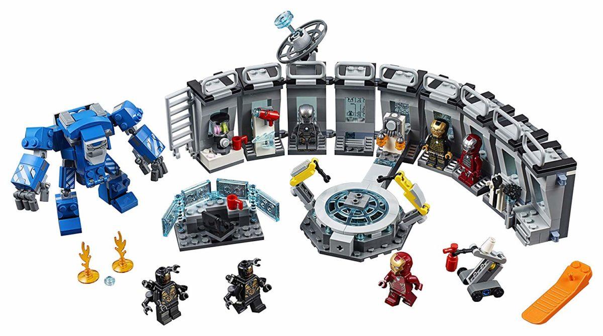 lego-avengers-endgame-iron-man-hall-armor-76125-inhalt-2019 zusammengebaut.com
