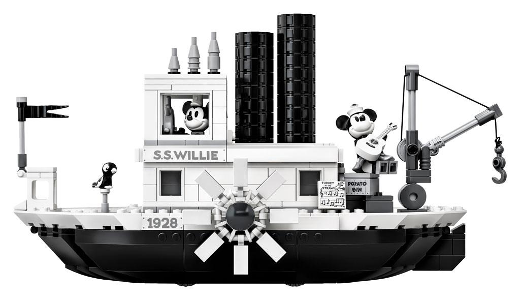 lego-ideas-steamboat-willie-set-21317-disney-mickey-mouse-damper-seite-2019 zusammengebaut.com