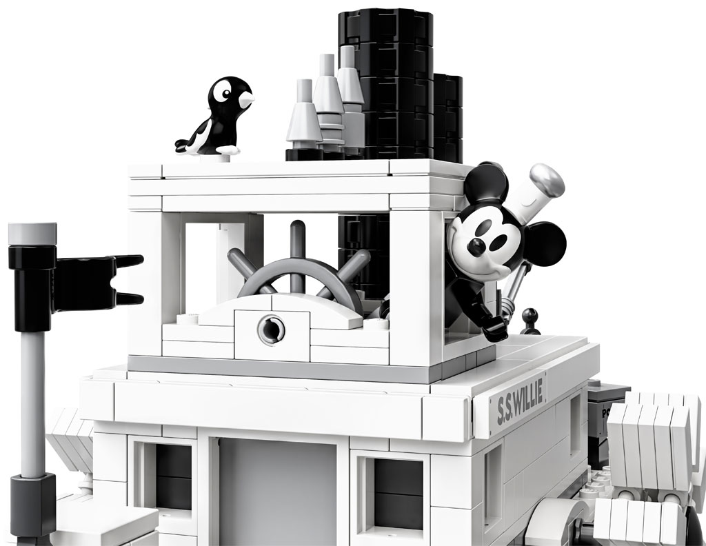 lego-ideas-steamboat-willie-set-21317-disney-mickey-mouse-damper2019 zusammengebaut.com
