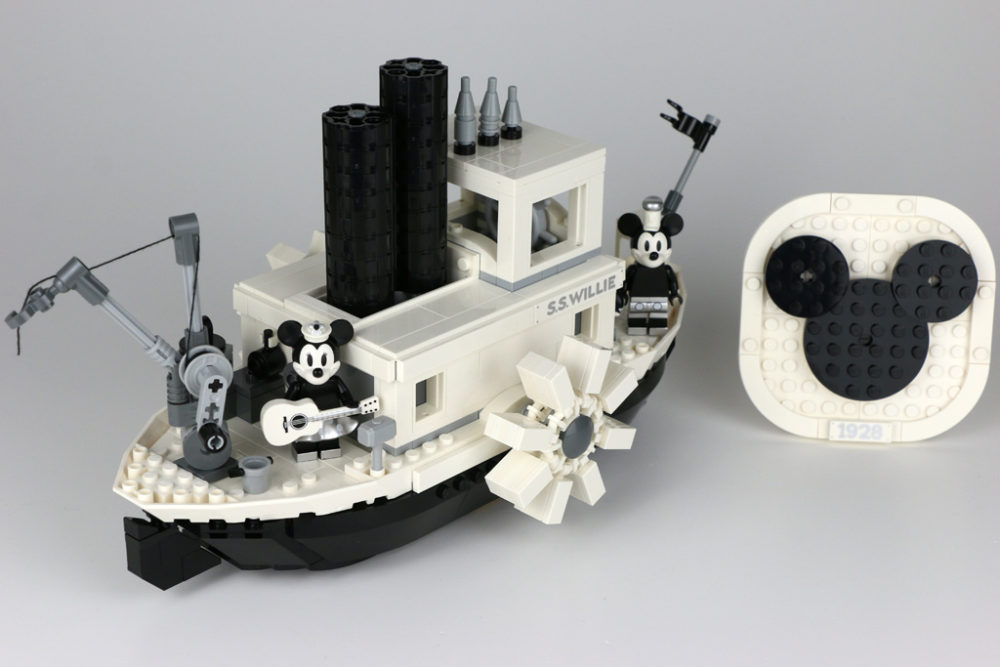 Lego Ideas Steamboat Willie 21317 Im Review Zusammengebaut