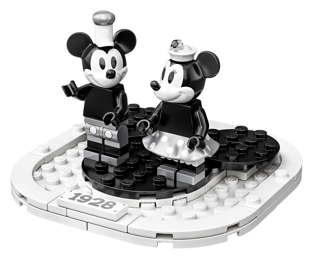lego-ideas-steamboat-willie-set-21317-disney-mickey-mouse-minnie-2019 zusammengebaut.com