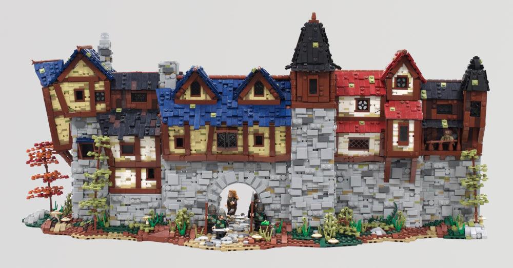 lego-moc-the-walls-of-stoneharrow-mountain-hobbit zusammengebaut.com
