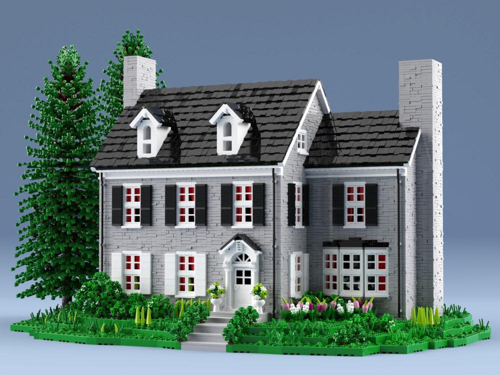 lego-stone-house-aukbricks zusammengebaut.com
