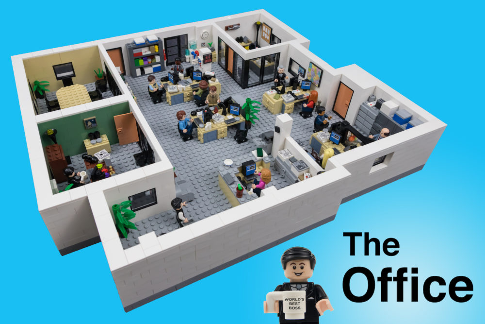 lego-the-office zusammengebaut.com