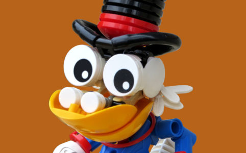 Scrooge McDuck by Logan W.