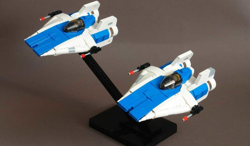 LEGO A-Wing Patrol by Maelven